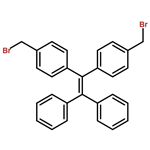 1,1-diphenyl-2,2-di(4-bromomethyl-phenyl)ethylene