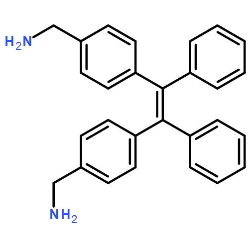 1,2-di-[4-(aminomethyl)phenyl]-1,2-diphenylethylene