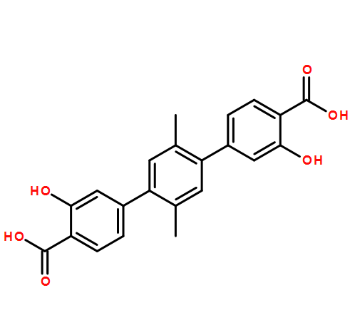 3,3''-dihydroxy-4''-(methoxycarbonyl)-2',5'-dimethyl-[1,1':4',1''-terphenyl]-4-carboxylic acid