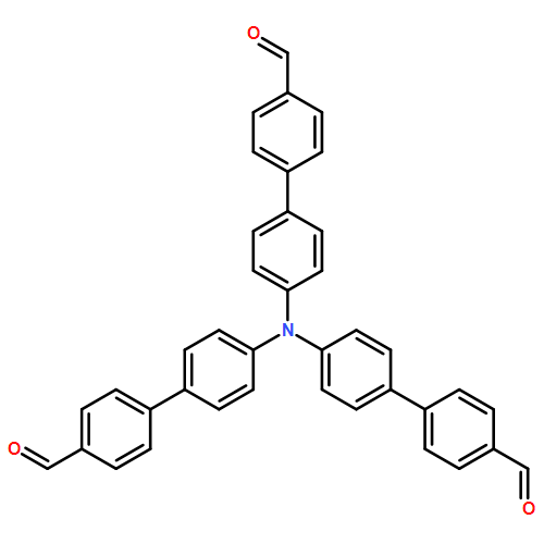[1,1'-Biphenyl]-4-carboxaldehyde,4'-[bis(4'-formyl[1,1'-biphenyl]-4-yl)amino]-