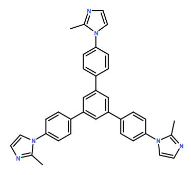 1,1'-(5'-(4-(2-methyl-1H-imidazol-1-yl)phenyl)-[1,1':3',1''-terphenyl]-4,4''-diyl)bis(2-methyl-1H-imidazole)