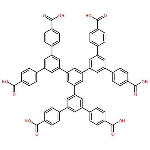 5',5'''-bis(4-carboxyphenyl)-5''-(4,4''-dicarboxy[1,1':3',1''-terphenyl]-5'-yl)-[1,1':3',1'':3'',1''':3''',1''''-Quinquephenyl]-4,4''''-dicarboxylic acid